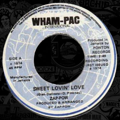 singles in zap Zip zap rap, a single by devastatin' dave released in 1986 on superstar international (catalog no ss-47-12 vinyl 12) genres: hip hop, electro.
